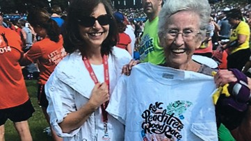 Tracing the history of the AJC Peachtree Road Race t-shirt