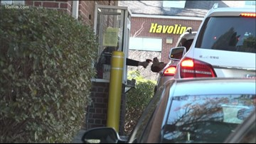 Why are some cities banning drive-thrus?