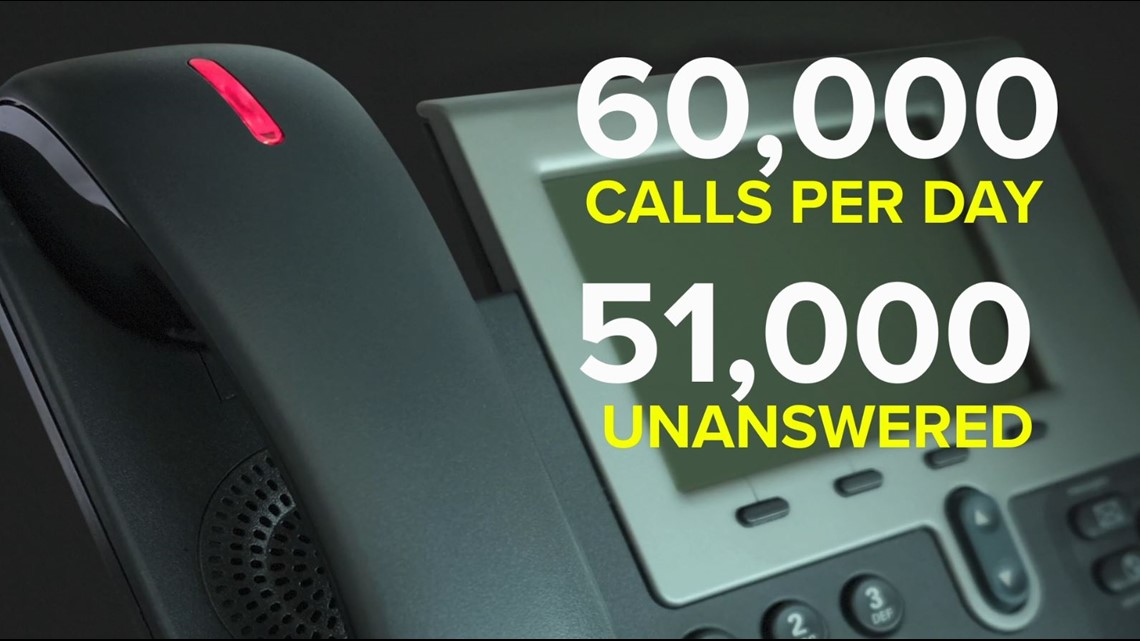 Despite record OT hours, 85% of callers still can't get through to the Ga. Department of Labor