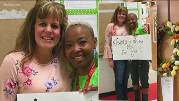'Jesus chose me for you': Educators form lifelong bond from kidney transplant