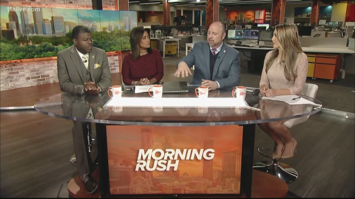 Morning Rush Anchors Discuss Army-Navy 'white Power