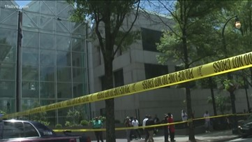 Person shot near Fulton County government center in downtown Atlanta