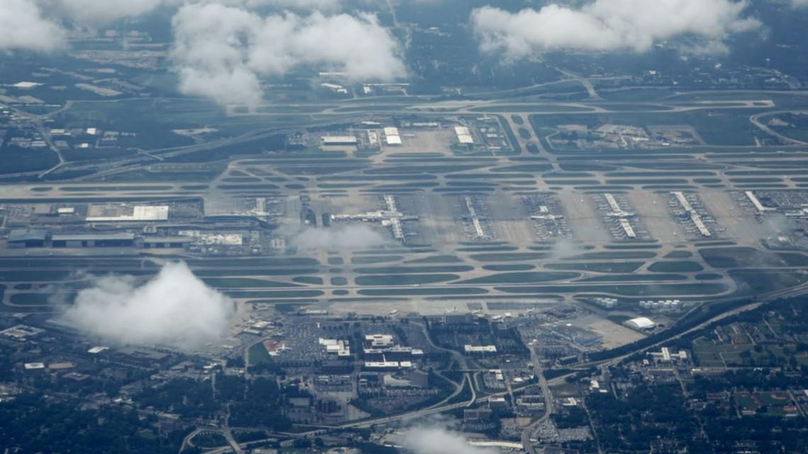 Atlanta airport has six different 911 jurisdictions. Here's why it matters.