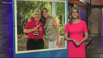 11Alive surprises Mr. Tom with an EMMY!