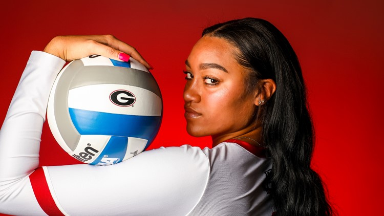 'Shut up and play...that's not going to happen' | UGA volleyball player creates safe space for black women