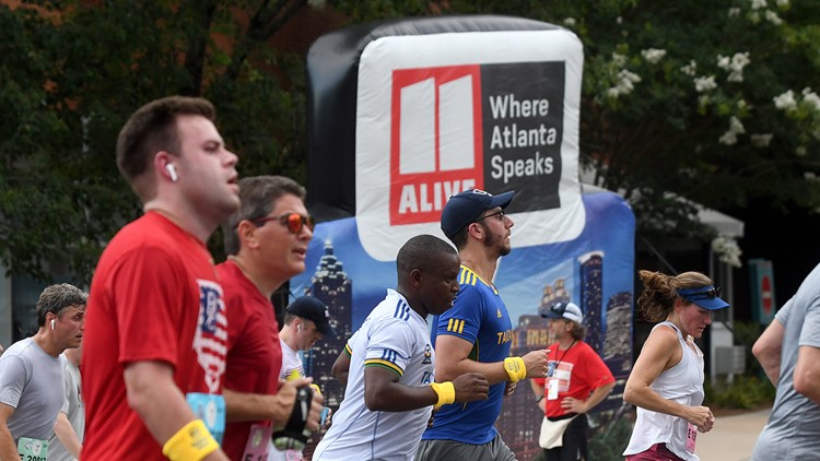 AJC Peachtree Road Race takes place virtually on Thanksgiving Day