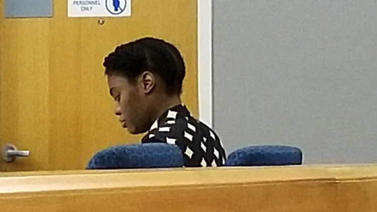 Tiffany Moss in court