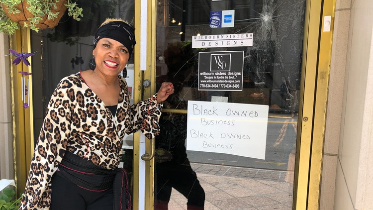 Black business owner's spirit bruised but not broken after vandalism