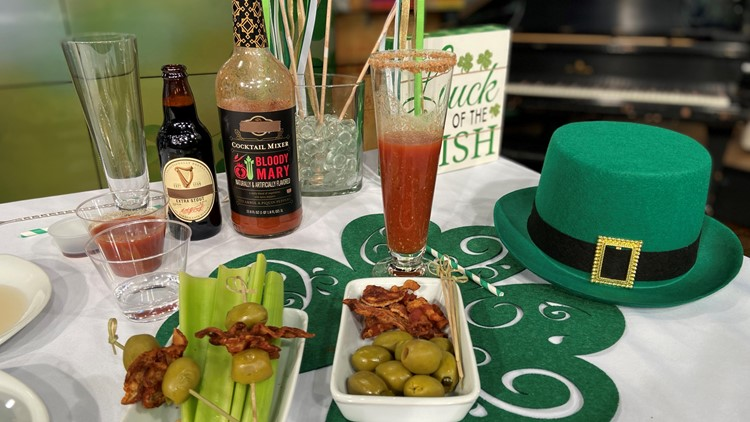 Sumptuous Living's Guiness Bloody Mary
