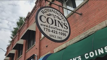 After 56 years, a change in the coin business on Marietta Square