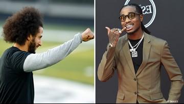 Migos rapper Quavo wants to see Colin Kaepernick on the Atlanta Falcons