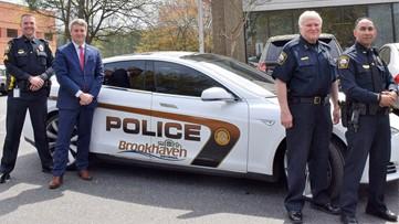 Tesla police cruiser? Brookhaven testing one now