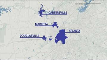 VERIFY | A group says metro Atlanta water is contaminated: Are their numbers legitimate?