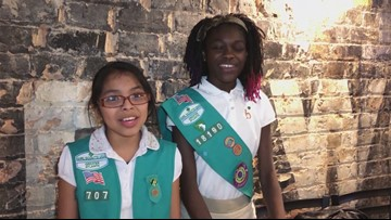 East Point Girl Scout troop kicks off the beginning of cookie season