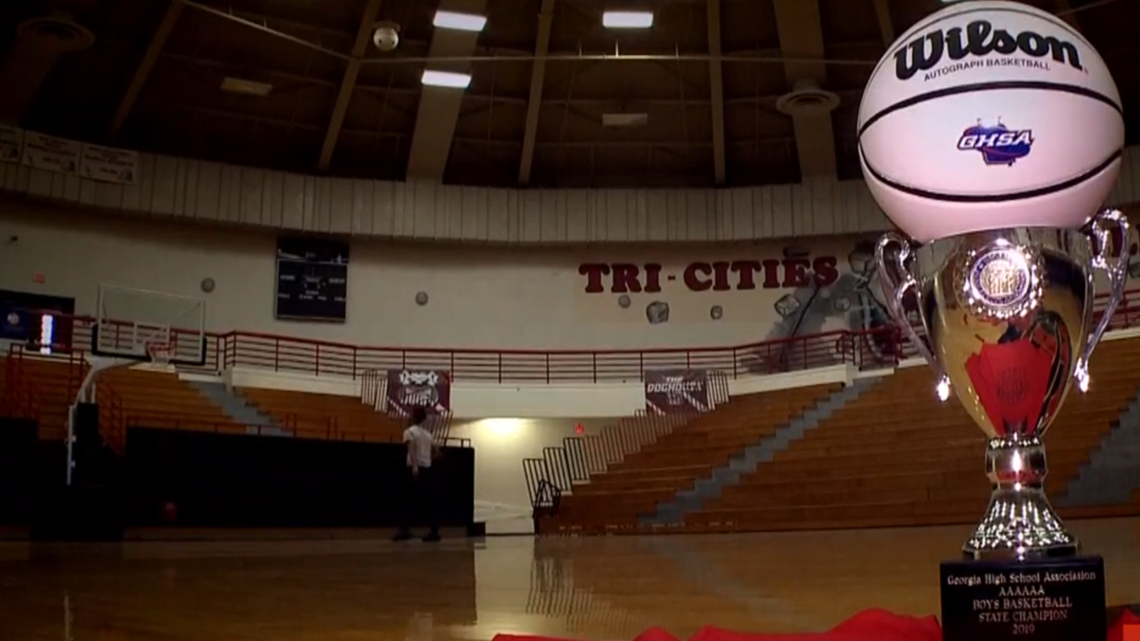 Tri-Cities High School host celebration basketball game to celebrate win