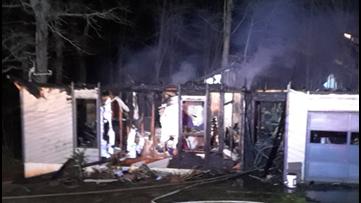 Neighbor knocks on door, alerts homeowner of fire