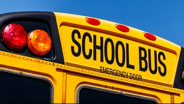 School bus carrying students rear-ended by SUV