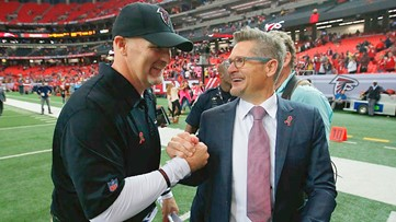 Report: Atlanta Falcons owner still supports Dan Quinn, Thomas Dimitroff as 'co-builders'