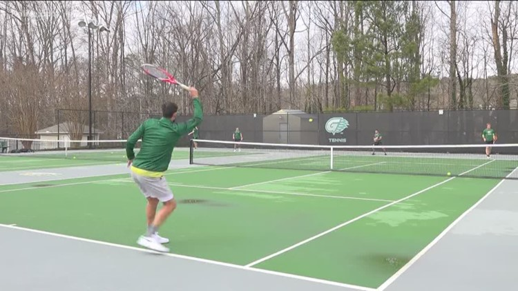 Georgia Gwinnett College tennis team on winning streak