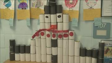 Creative Can-A-Thon challenge at metro Atlanta elementary school