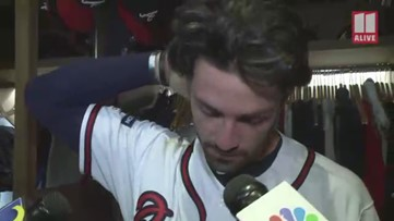 Dansby Swanson on Brian McCann retiring: He's one of the best teammates I've ever had