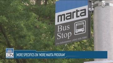 More specifics on 'More MARTA Program'