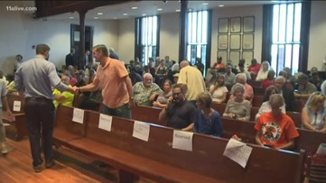 Residents pack out Newton County courthouse to discuss cancer causing chemicals