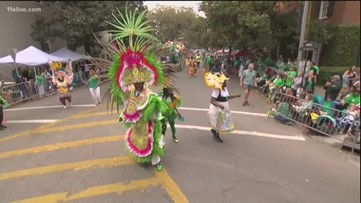 People pack streets in Savannah for St. Patrick's Day Parade
