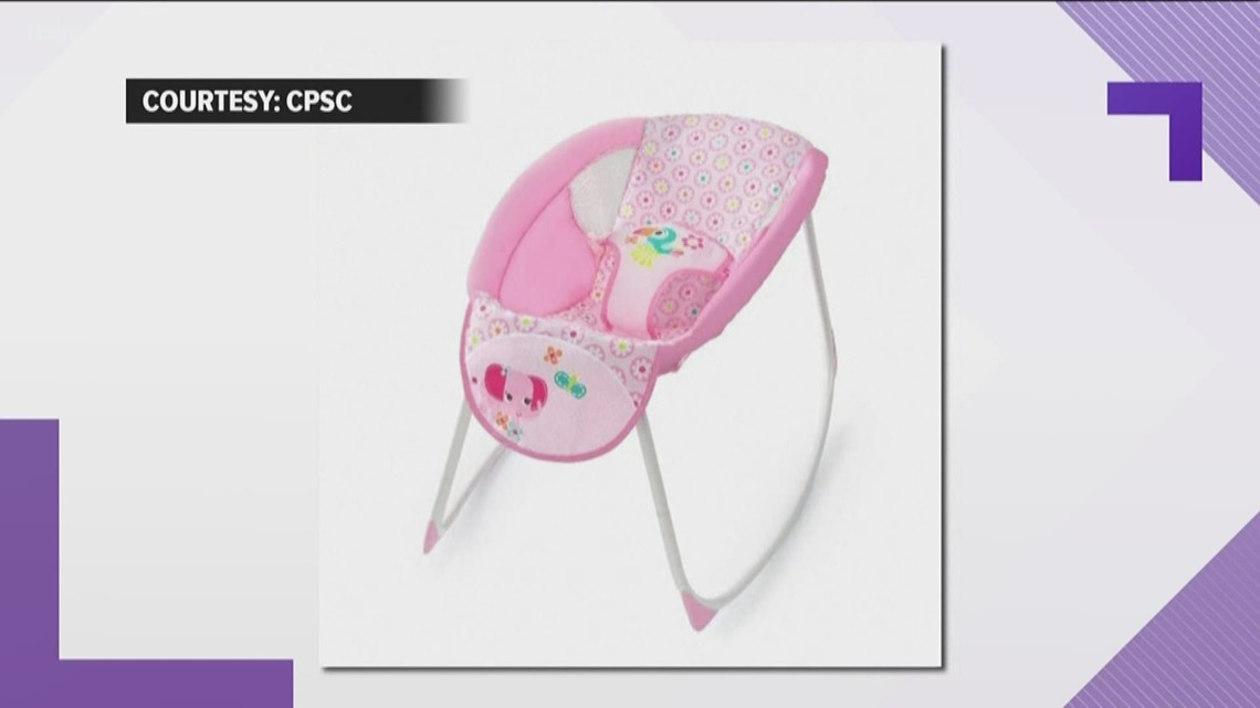 Sleeping rockers recalled after 5 infant deaths