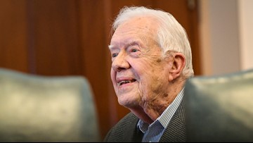 Jimmy Carter falls in home, is in hospital for treatment of pelvic fracture
