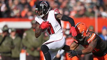 Atlanta Falcons WR Julio Jones makes NFL history ... in record time