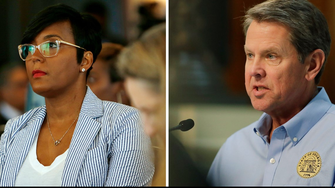 Bottoms and Kemp | The different views of the two leaders