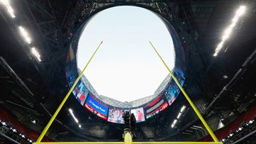 Mercedes-Benz Stadium roof will be closed during Super Bowl action
