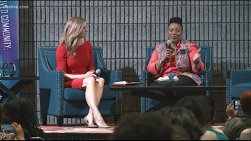 Dr. Bernice King's message to students: You're not here by accident, you're here on purpose