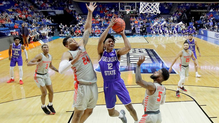 NCAA Tournament: Georgia State falls apart late in loss to 3-seed Houston