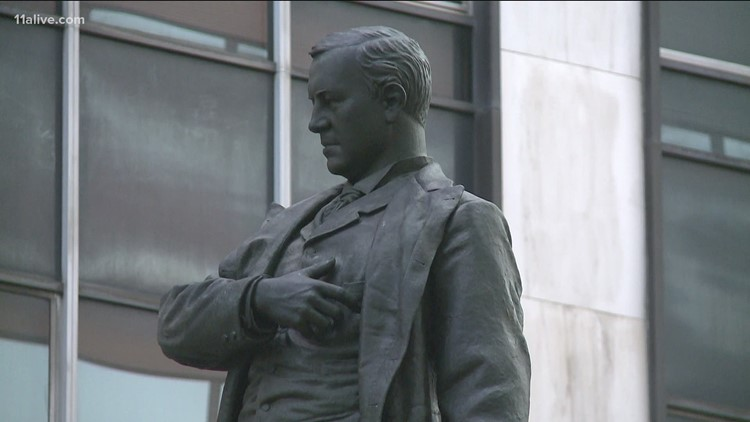 Henry Grady statue in Downtown Atlanta could get new historical marker