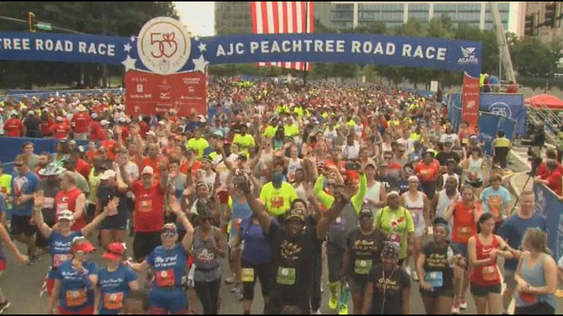 GUIDE | 50th running of the AJC Peachtree Road Race