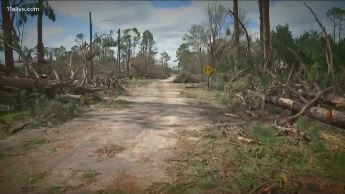 Gas Companies In Georgia >> Donalsonville, Georgia hit hard by Hurricane Michael | 11alive.com