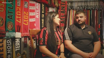 Atlanta United super collector couple have more than 200 scarves and other memorabilia
