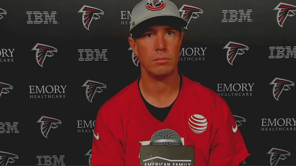 Matt Ryan responds to questions about Julio Jones' future