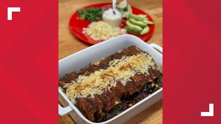 Mexican Mole Enchiladas Recipe