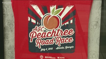 There's an extra $200K up for grabs in this year's Peachtree Road Race