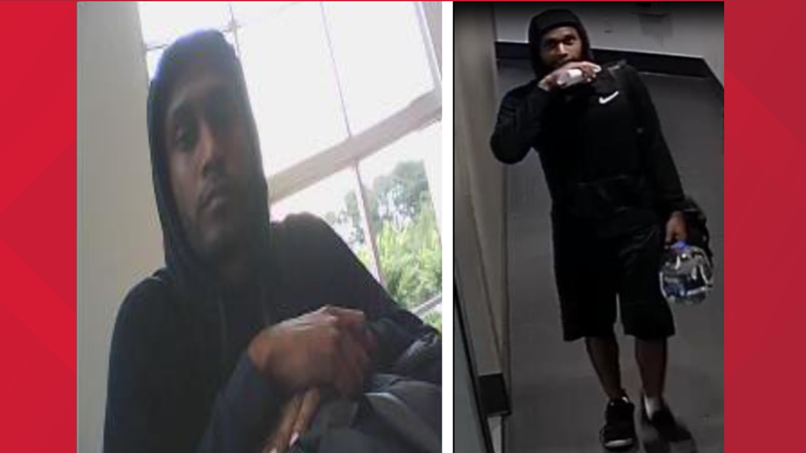 Suspect steals credit cards from two Lawrenceville gyms