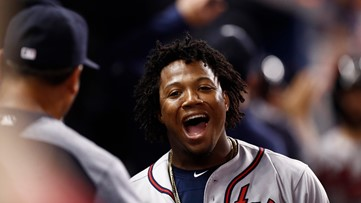 'MVP! MVP!' Braves' Ronald Acuña making case with another sensational show