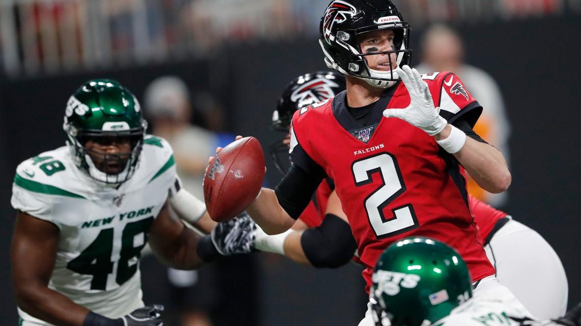 Ryan, Darnold both sharp as Jets beat Falcons 22-10