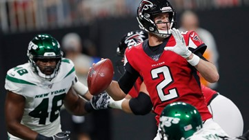 Ryan, Darnold both sharp as Jets beat Falcons 22-10