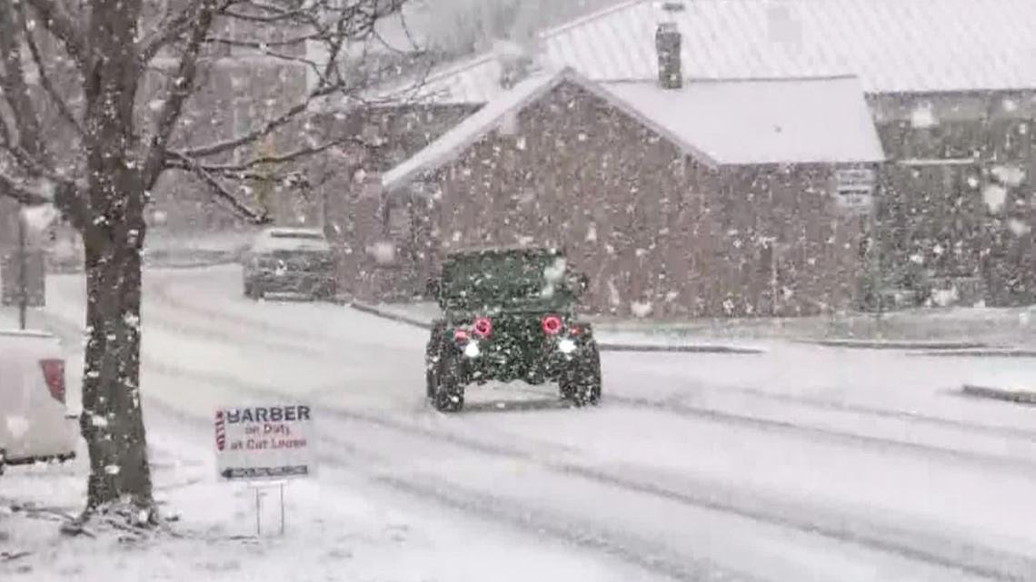 Photos and video of snow in metro Atlanta!