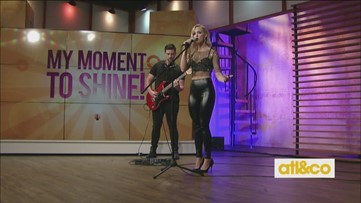 Singer/songwriter Madeline Steward performs on A&C