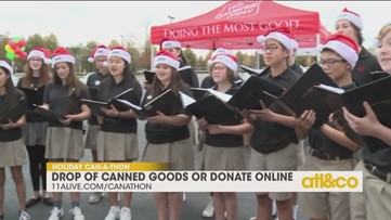 Greater Atlanta Christian School sings at Can-A-Thon