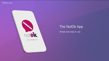Atlanta siblings create 'notOK' app that immediately alerts friends, family if you need help